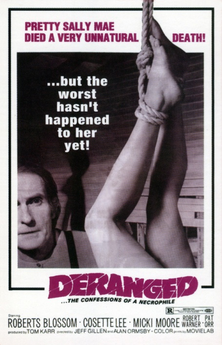 deranged_film poster