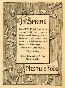 Nestlé ad from 1893